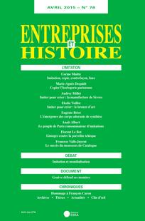 Imitation_Entreprises et histoire78-2015