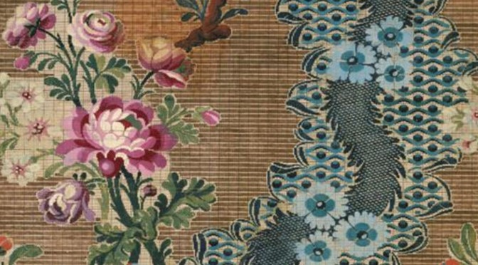 Fabrications : designing for silk in the eighteenth century