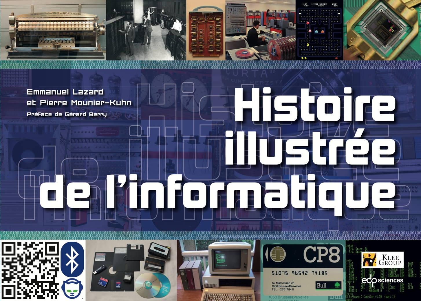 nouveau livre    u201chistoire illustr u00e9e de l u2019informatique u201d